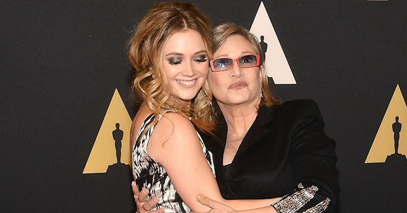 Billie Lourd shared a cute throwback picture of Carrie Fisher to remember her on Mother's Day