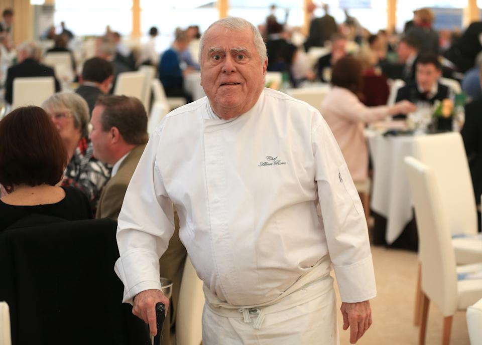 Albert Roux at Chez Roux at Cheltenham