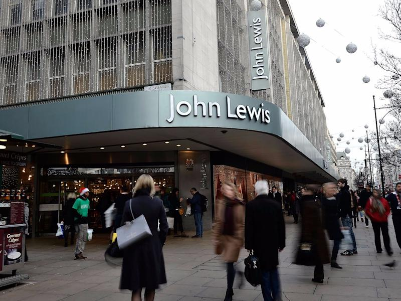 Kaufhauskette John Lewis in London