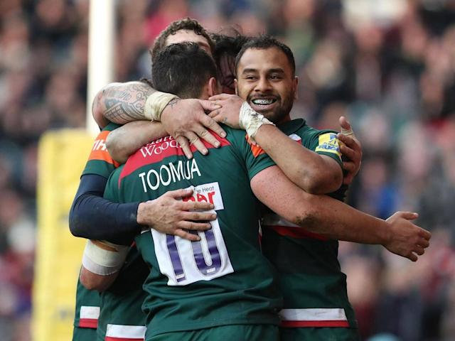 Matt Toomua shines as Leicester Tigers recover against Harlequins to keep play-off hopes alive