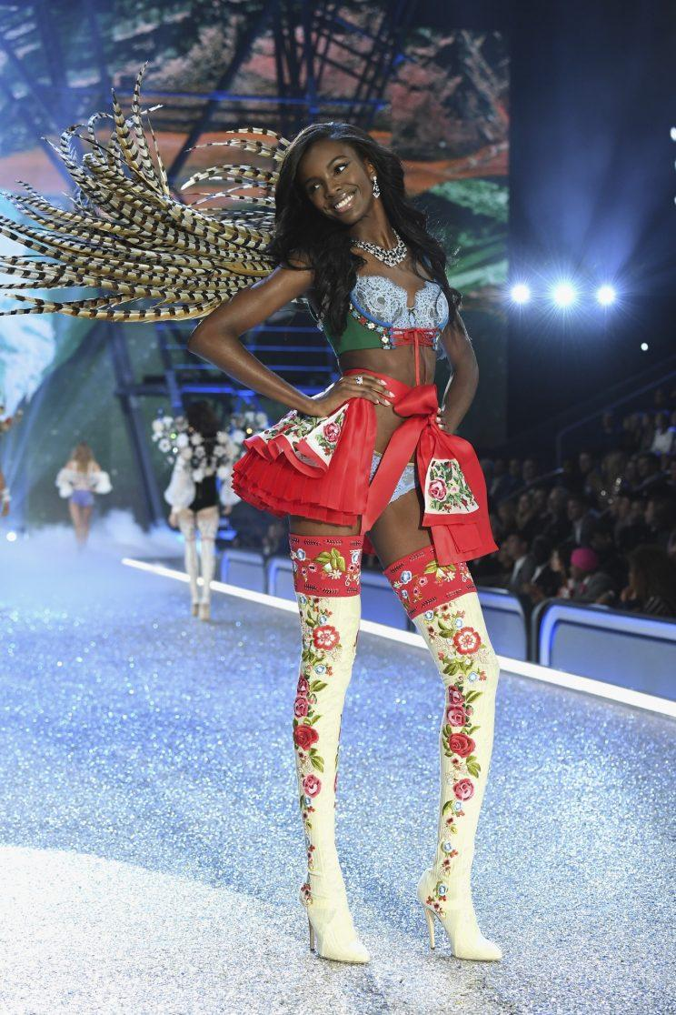 Model Leomie Anderson is launching an anti-Trump collection as part of her LAPP brand [Photo: Getty]