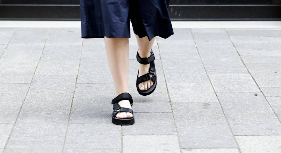 We've found these sell-out sandals on sale. (Getty Images)