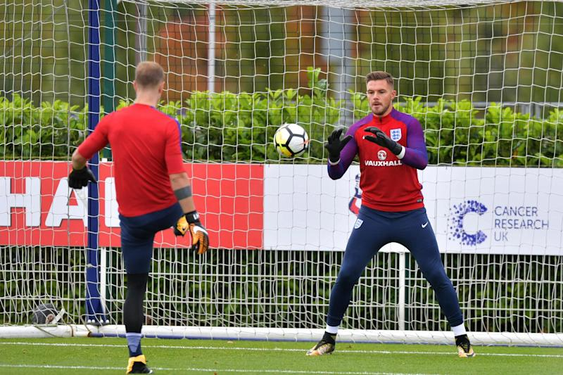 Butland will be hoping to convince Southgate he should be England's No.1 of the future: AFP/Getty Images