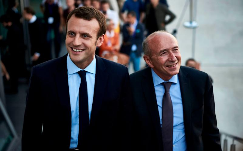 Gérard Collomb, the interior minister,issued the ketchup analogy to explainthe lack of tangible benefits of President Emmanuel Macron's reforms - AFP