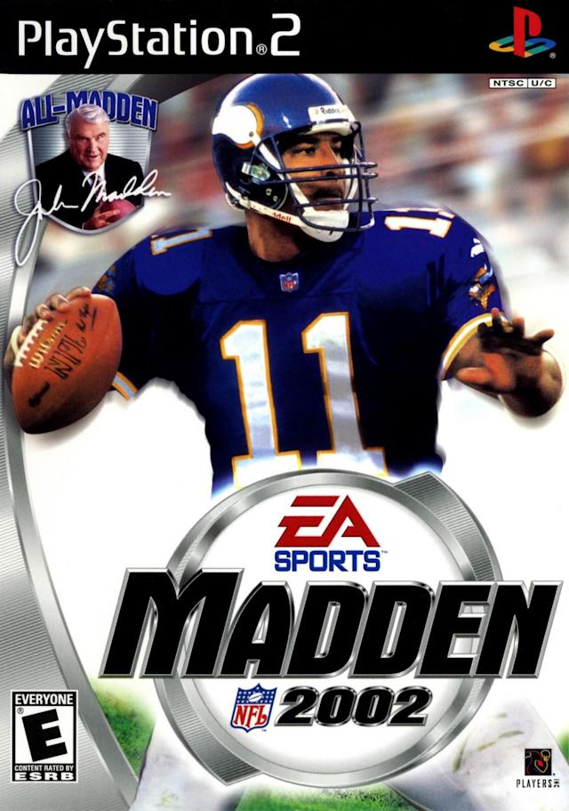 Madden 2002 cover (via EA Sports/Sony)