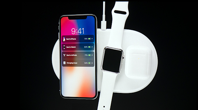 In 2018, Apple will offers its AirPower charging pad, capable of charging multiple Apple gadgets at once.