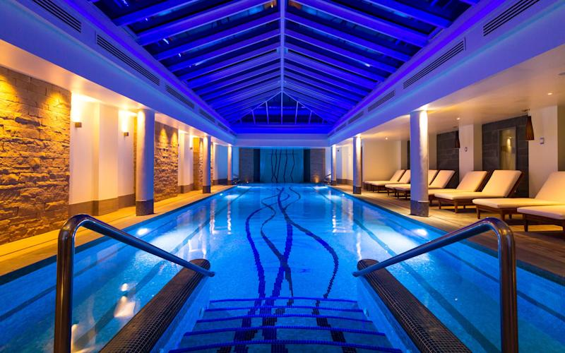 Old Course Hotel has recently opened its new Kohler Waters Spa and Leisure Centre.