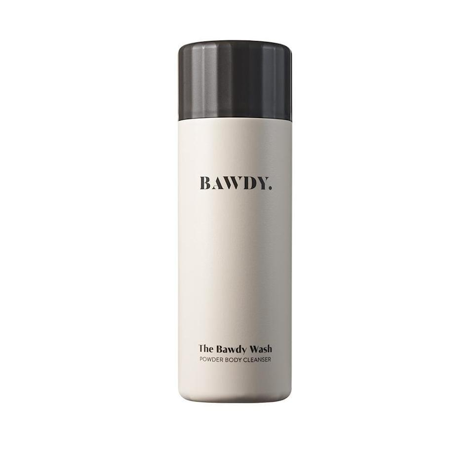 <p>Unlike most traditional body washes, <span>The BAWDY Wash</span> ($30) comes in powder form and is activated with water. This cuts back on the amount of water needed to produce the product and makes the wash last longer.</p>
