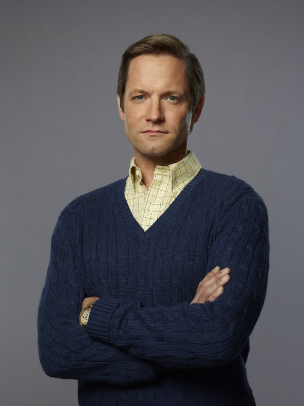 "Matt Letscher as Tom Bradshaw in ""The Carrie Diaries."""