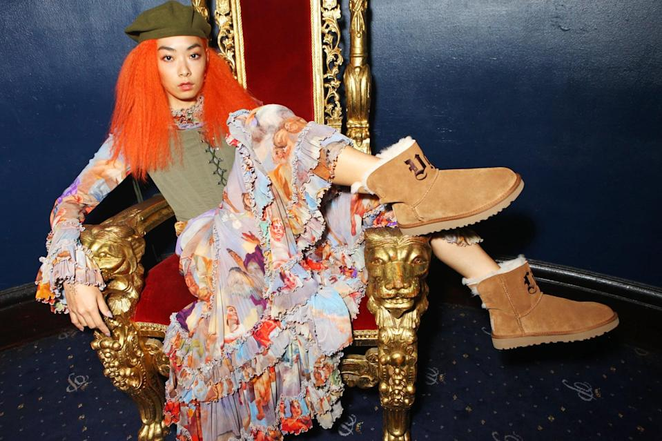 LONDON, ENGLAND - SEPTEMBER 14:  Rina Sawayama attends the i-D x Jeremy Scott party presented by UGG at Cafe de Paris on September 14, 2017 in London, England.  (Photo by David M. Benett/Dave Benett/Getty Images for i-D)