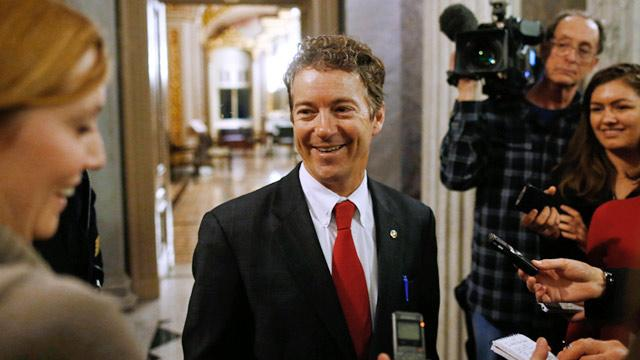 Eric Holder Gives Rand Paul One Word; McCain and Graham Blast 'Ridiculous' Filibuster