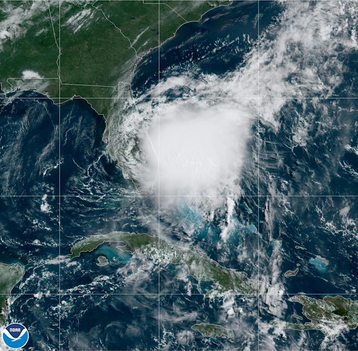 Tropical Storm Isaias. (NOAA)
