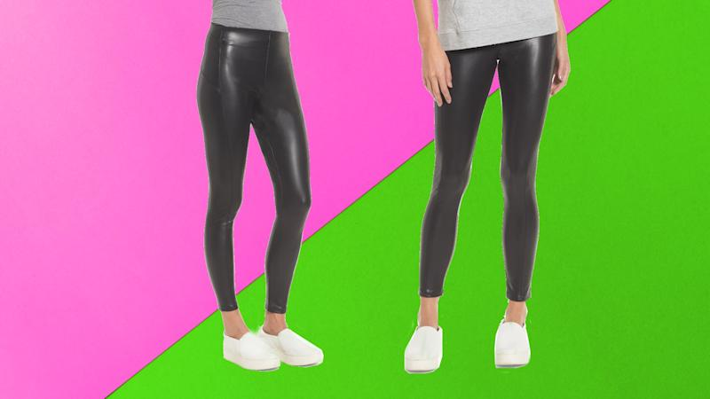 Nordstrom Faux Leather Leggings. (Photo: Nordstrom)