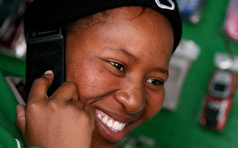 Banking via mobile phone has exploded in Africa - EPA