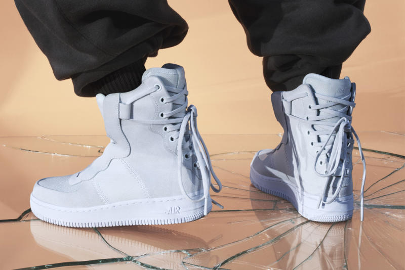 fb2b7ee2f1 Never one to miss a zeitgeist moment, Nike this week unveiled a special  collection of reimagined Nike Air Force 1 and Air Jordan 1 sneakers, ...