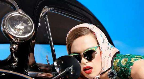 f85a991eebc WATCH Prada s Spring Summer 2012 Campaign Video Starring Natasha Poly!