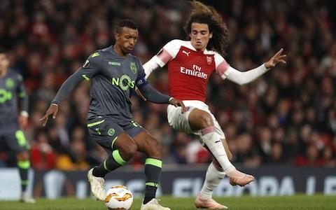 arsenal vs sporting - Credit: AFP