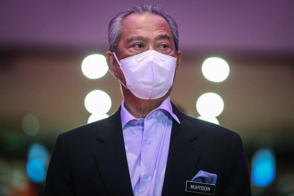 Whether with Umno or Opposition parties, the political horse trading will continue to burden the current administration, and with a general election seemingly off the table because of the pandemic, it is looking like an impasse no matter which path Muhyiddin chooses. — Picture by Yusof Mat Isa