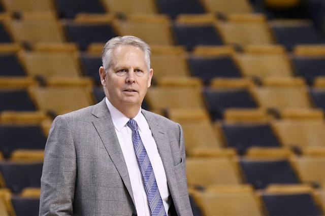 Danny Ainge is expected to make a full recovery after a mild heart attack. (Photo by Omar Rawlings/Getty Images)