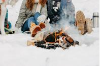 "<p>With everyone spending so much time indoors, get some fresh air this Valentine's Day with a cozy bonfire. Bundle up in scarves, winter boots, and gloves and (safely!) build a crackling fire to snuggle beside. Make it even more special by roasting marshmallows and sipping on hot chocolate.</p><p><a class=""link rapid-noclick-resp"" href=""https://go.redirectingat.com?id=74968X1596630&url=https%3A%2F%2Fwww.walmart.com%2Fsearch%2F%3Fquery%3Dwinter%2Bboots&sref=https%3A%2F%2Fwww.thepioneerwoman.com%2Fholidays-celebrations%2Fg35118424%2Fthings-to-do-on-valentines-day%2F"" rel=""nofollow noopener"" target=""_blank"" data-ylk=""slk:SHOP SNOW BOOTS"">SHOP SNOW BOOTS</a></p>"