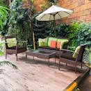 <p>Celebrate summer and give your outdoor space a makeover with this <span>Costway Patio Rattan Wicker Furniture Set</span> ($370, originally $470).</p>