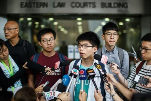 Hong Kong student leader Wong acquitted over anti-China protest