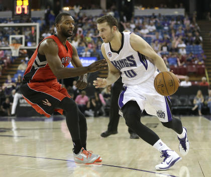 Sharpshooter Nik Stauskas could see big minutes as a rookie. (AP/Rich Pedroncelli)