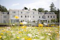 """<p>Nestled in the heart of Ascot, Berkshire is a venue perfect for those in search of a countryside wedding just a 45-minute drive from Central London. </p><p>Event space at Coworth includes the neutral-toned Oval Room with a private patio, the Garden Room, the Oak Room, The Barn and the gardens (with its beautiful ten-acre wildflower meadow).</p><p>For those in search of a smaller ceremony space, guests can wed in The Dower House, Coworth Park's private house and signature suite, situated on the estate and built in 1775 which overlooks the lake that's home to Park's family of swans. Need we say more?</p><p>An aisle of wild flowers (during the summer seasons) can be requested, as can a complimentary overnight stay for four people in two Superior Rooms. There are also several nearby churches to choose from. </p><p>Find out more <a href=""""https://www.dorchestercollection.com/en/ascot/coworth-park/weddings/"""" rel=""""nofollow noopener"""" target=""""_blank"""" data-ylk=""""slk:here"""" class=""""link rapid-noclick-resp"""">here</a>.</p>"""