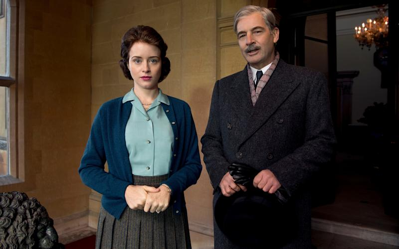 End of Eden: Claire Foy and Jeremy Northam