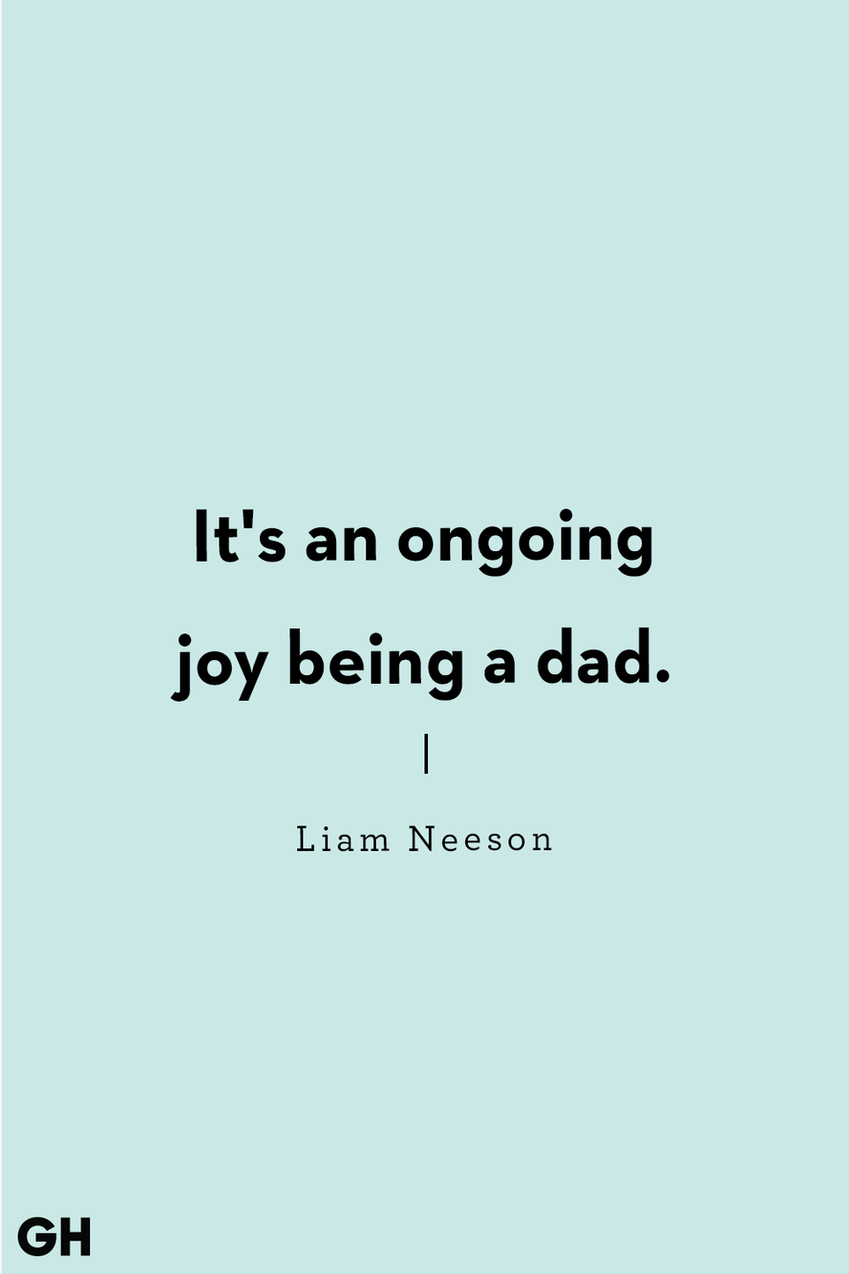 <p>It's an ongoing joy being a dad.</p>