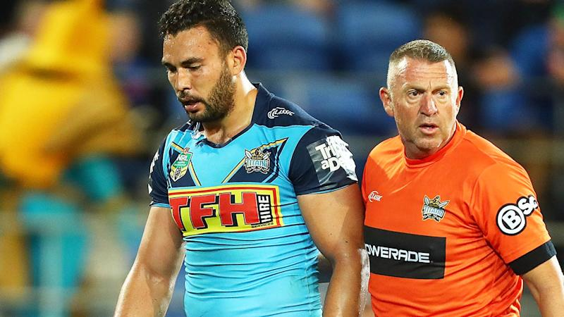 TFH, pictured here is a major sponsor of Ryan James and the Gold Coast Titans.