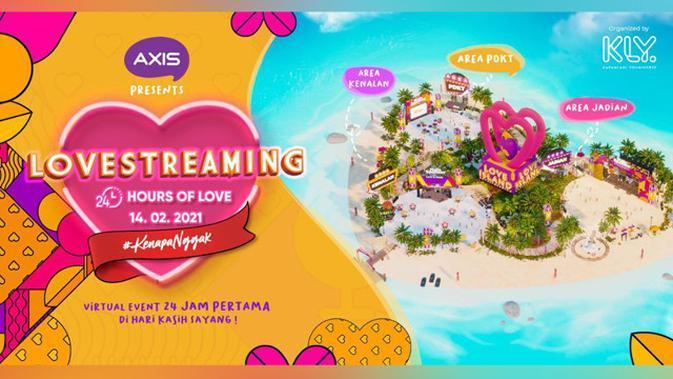 AXIS Love Streaming.