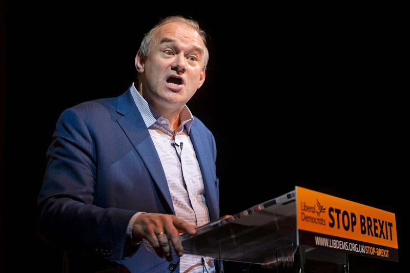 Sir Ed Davey has previously not ruled out running for leader (PA)