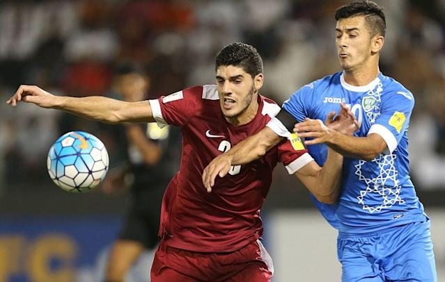 Qatar desperate for a result to keep World Cup hopes alive.