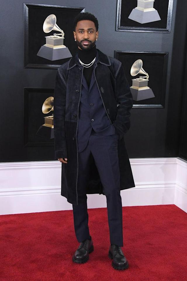 <p>Big Sean attends the 60th Annual Grammy Awards at Madison Square Garden in New York on Jan. 28, 2018. (Photo: John Shearer/Getty Images) </p>