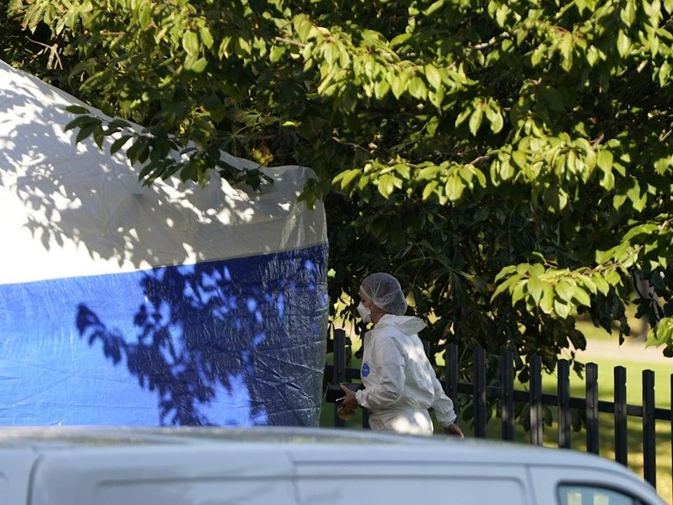 Forensic officers are continuing their inquiries (Danny Lawson/PA) (PA Wire)