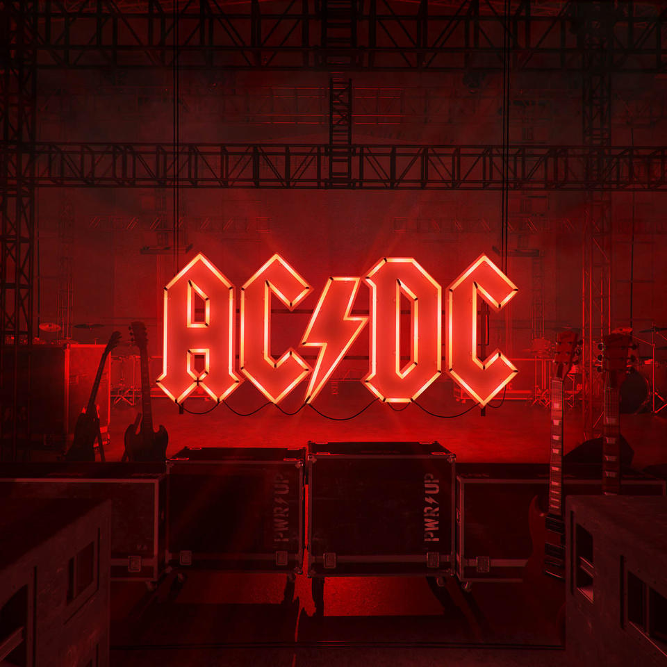 "La portada del álbum ""Power Up"" de AC/DC proporcionada por Columbia Records. (Josh Cheuse/Columbia Records via AP)"