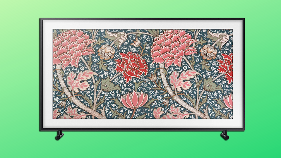Turn your TV into a work of art with Samsung's crystal-clear Frame TV—it's more than $500 off right now