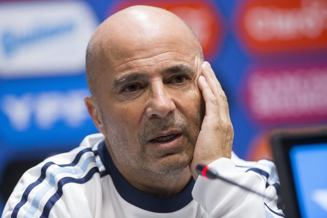 Cheaper option: Argentina coach Jorge Sampaoli wouldn't cost Chelsea as much as other candidates