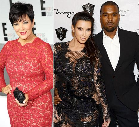 "Kris Jenner ""Annoyed"" Kim Kardashian, Kanye West Are ""Not Getting Married"""
