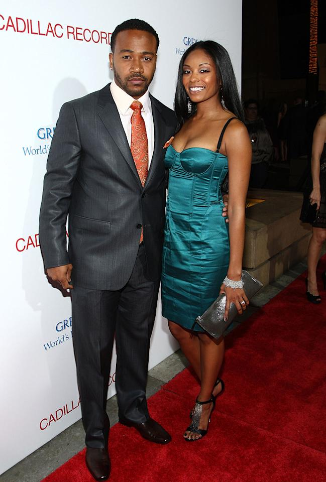 "<a href=""http://movies.yahoo.com/movie/contributor/1809177013"">Columbus Short</a> and <a href=""http://movies.yahoo.com/movie/contributor/1809212669"">Tanee McCall</a> at the Los Angeles premiere of <a href=""http://movies.yahoo.com/movie/1810003875/info"">Cadillac Records</a> - 11/24/2008"