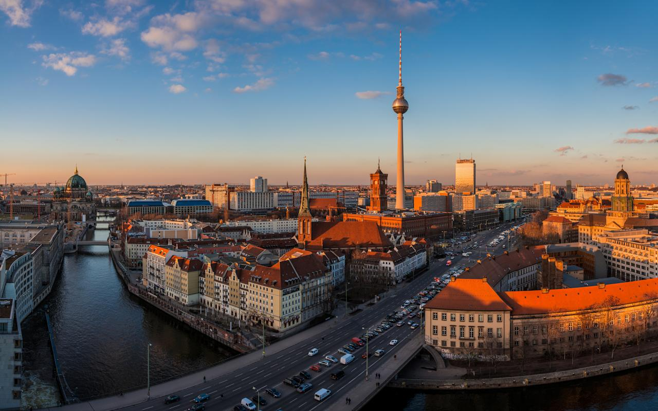 "<p>This year's report recognises Germany's ""highly skilled, affluent workforce"" butt also notes its ageing population. It describes Germany as one of the world's most popular migration destinations – an issue that has proved challenging for Angela Merkel. [Picture: Getty] </p>"