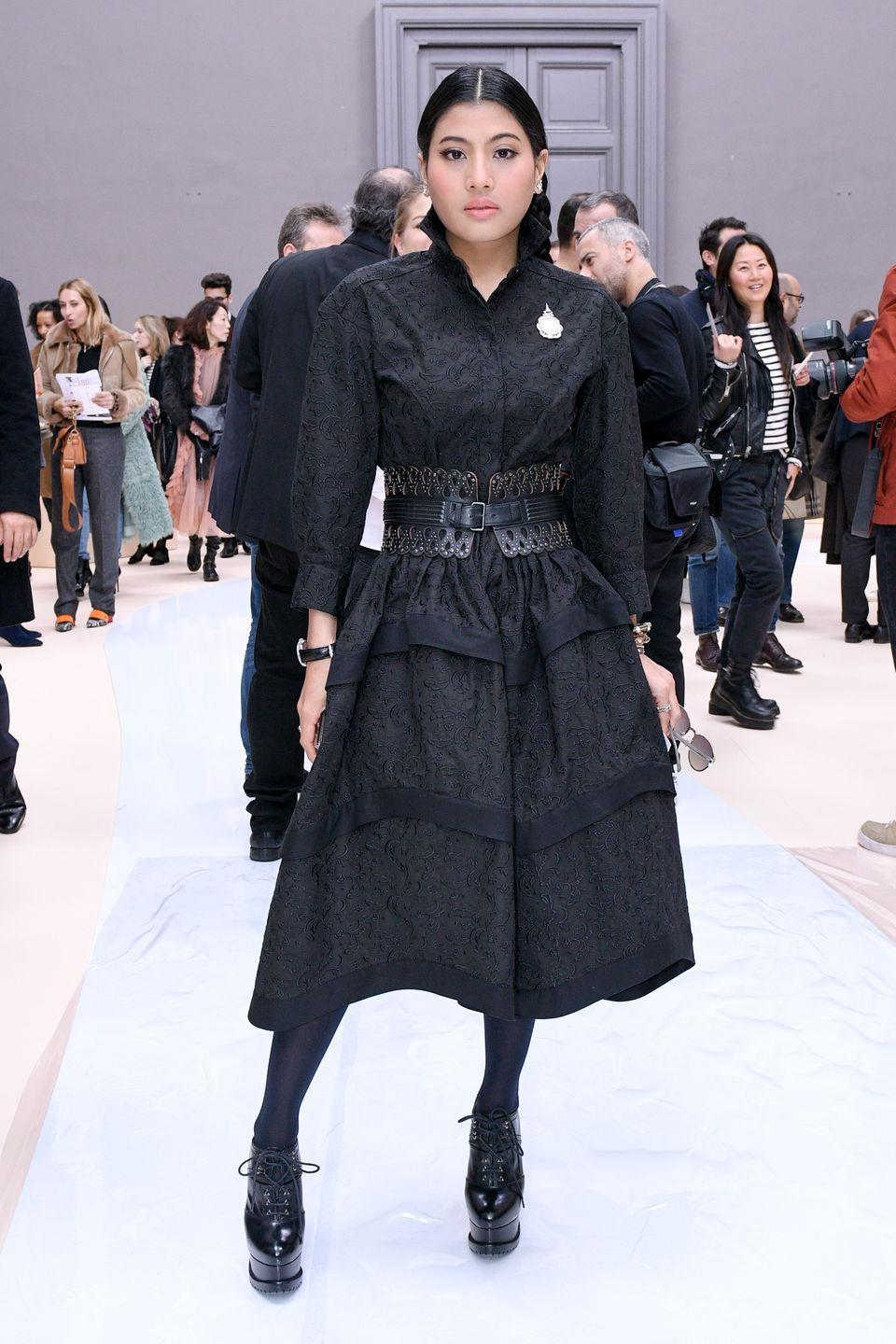 <p>Her Royal Highness made her Paris Fashion Week debut in 2007 when she accepted an invitation from Pierre Balmain to present her own collection. The 30-year-old princess is still a regular during fashion week season, bringing her sleek style in names like Dior, Chloé, Elie Saab, and Giambattista Valli.</p>