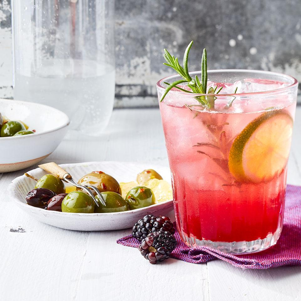 <p>Blackberries give this vodka cocktail its gorgeous hue and jammy flavor. Use the leftover simple syrup to mix up drinks for friends or skip the vodka for a mocktail.</p>