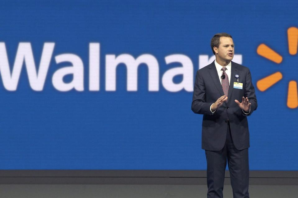 Wal-Mart CEO Doug McMillon (AP Photo/Danny Johnston, File)