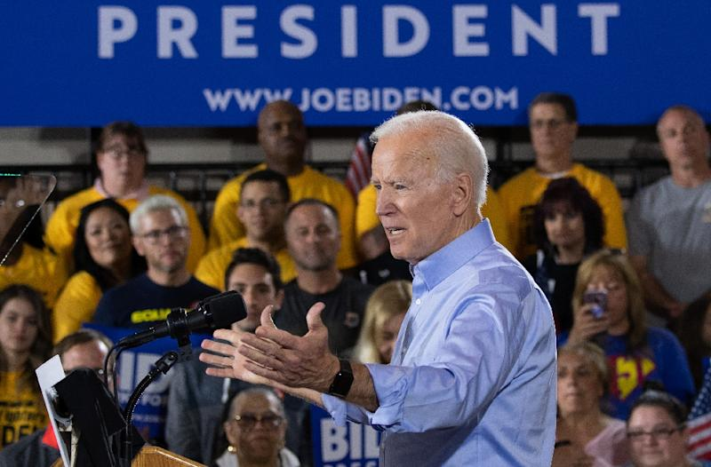 The former vice president's major challenge may well be appealing to younger voters (AFP Photo/SAUL LOEB)