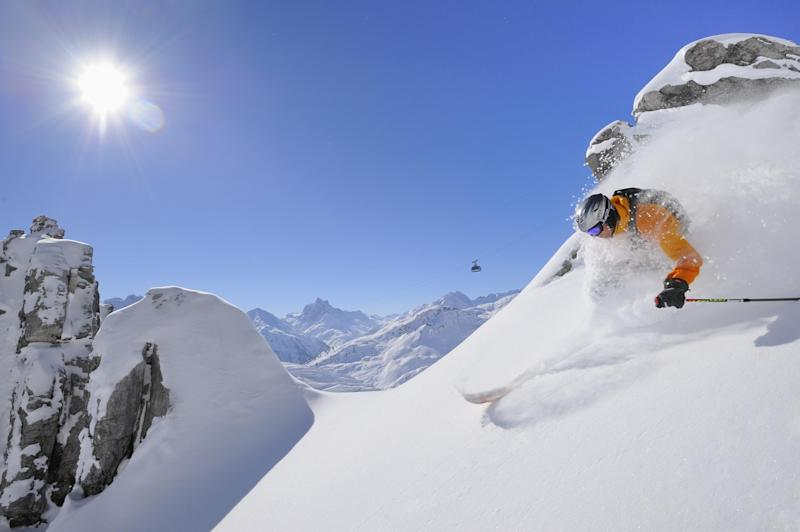 Arlberg resorts like St Anton are forecast impressive snowfall: Josef Mallaun
