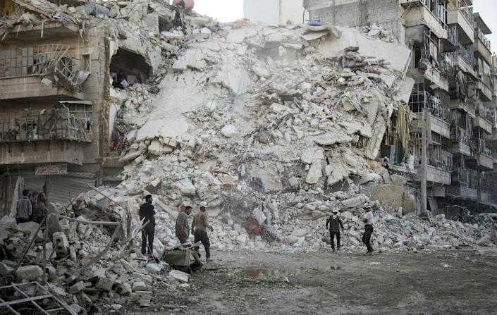 Aleppo has been hit by some of the worst violence in Syria's five-year conflict (AFP Photo/Karam al-Masri)