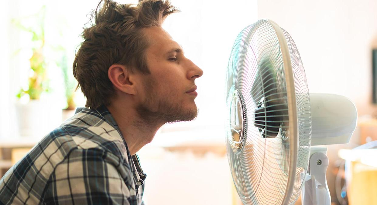 Need some respite from the heat? John Lewis' top-rated air cooler is back in stock.  (Getty Images)