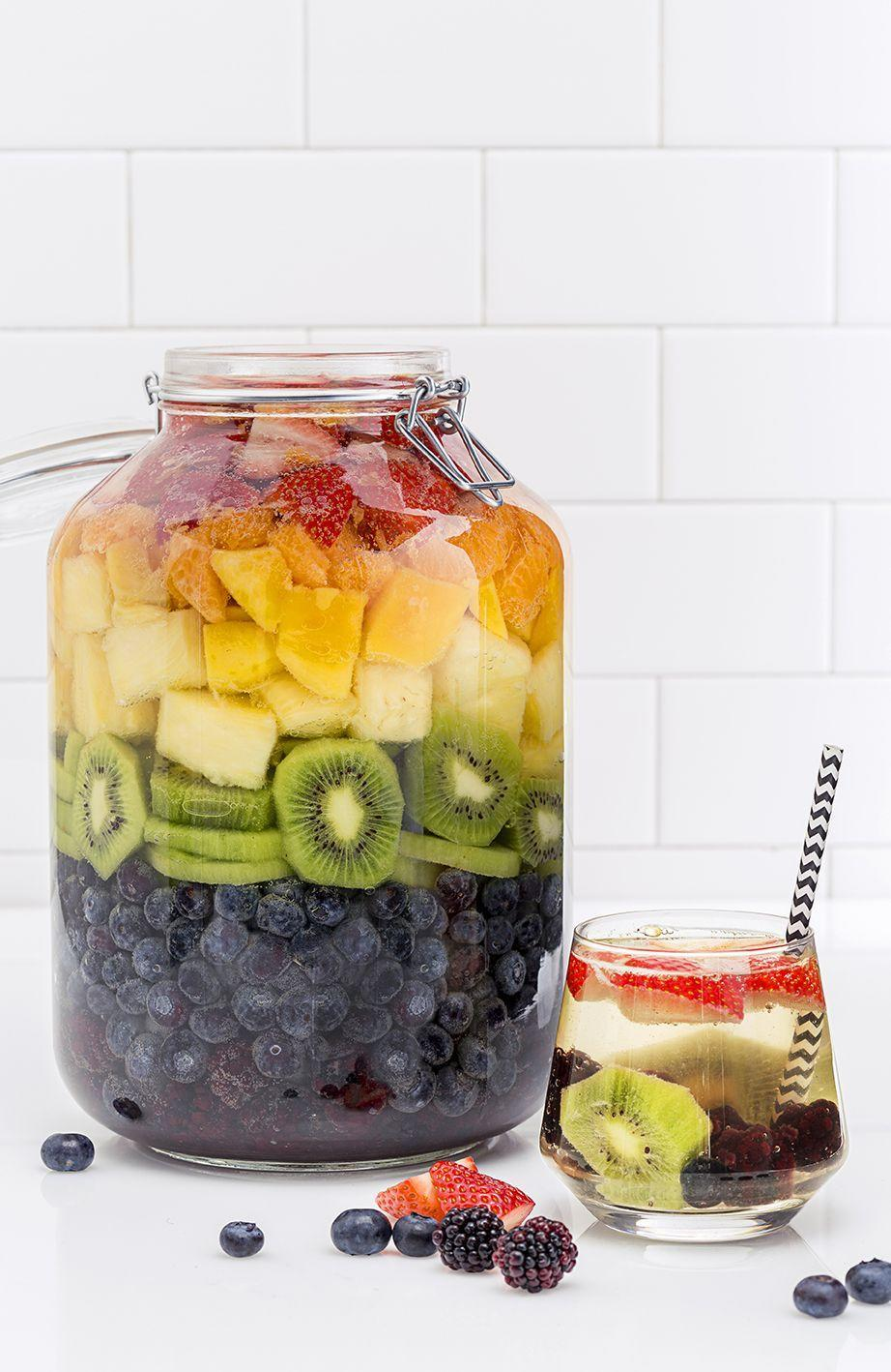 """<p>Yep, you can literally taste the rainbow.</p><p>Get the recipe from <a href=""""/cooking/recipe-ideas/recipes/a47493/rainbow-sangria-recipe/"""" data-ylk=""""slk:Delish"""" class=""""link rapid-noclick-resp"""">Delish</a>.</p>"""